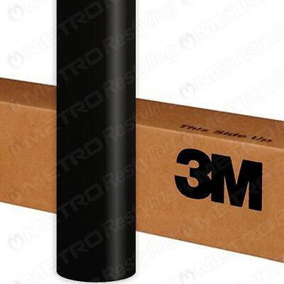 "60""x12"" 3M 1080 Satin Black Vinyl Vehicle Decal Car Wrap Film Sheet Sticker Roll"