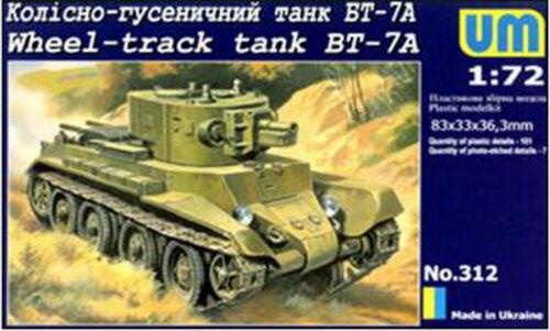 Model Kit Figure UM 1//72 312 bt7a