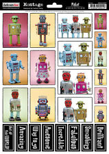 Darkroom Door Montage Collection Robot Foglio * NUOVO * LOOK