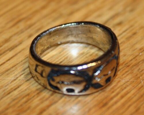 Details about  /Native American Bear Design Band size 6