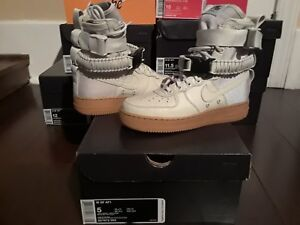multiple colors 2659a 51d6b Details about Womens Nike Air Force 1 High Special Field AF1 SF Light Bone  Gum wmns 857872 004