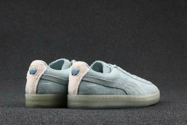 PUMA x Pink Dolphin Suede V2 Clyde Ether Blue Sneakers Shoes Men's US 9 Collab