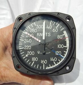 Beechcraft-King-Air-B-200-Velocita-0-300-Nodi-Indicatore-Controllo-Strumento