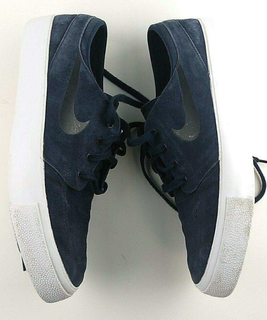 Nike Sb Zoom Stefan Janoski Premium Alta Nastro Uomo Misura 12 - Sautope Blu  89 Sautope classeiche da uomo
