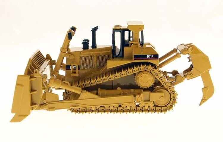Dm Cat D11R SOBRE ORUGAS BULLDOZER 1 50 Caterpillar 85025 vehículos de plomo fundido Juguete giallo