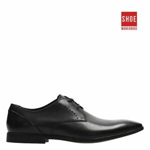 Clarks BAMPTON LACE Black Mens Lace-up Dress/Formal Leather Shoes
