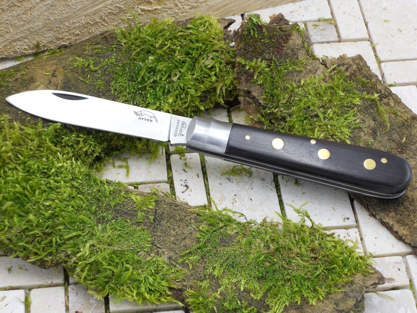 Otter 162 Drei-Nieten-Messer Taschenmesser Carbonstahl C75 Bubingaholz 01OT003 | Realistisch  | Qualität Produkte  | Qualität zuerst  | Modern Und Elegant