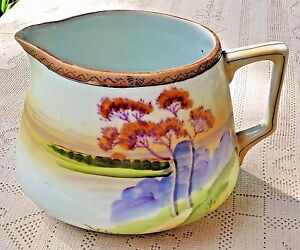 ANTIQUE 1916-1921 NIPPON CHINA E-OH HAND PAINTED PORCELAIN LEMONADE ...