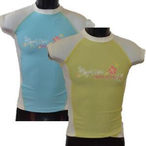 DARE-2B-GIRLS-HUBBA-RASH-VEST-SHORT-SLEEVE-BEACH-SUN-PROTECTION-SPF-40-DKS307
