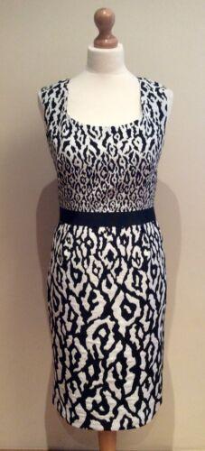 Black Dress Wedding White Belt Invitation Taglia Hobbs 12 Shift RXEwq8