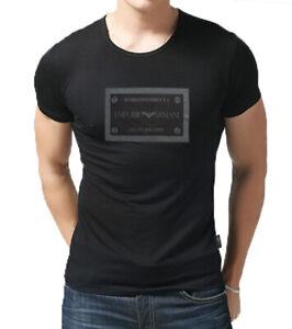 NEW-Emporio-Armani-Designer-tight-fit-muscle-T-shirt-sz-M-L-XL