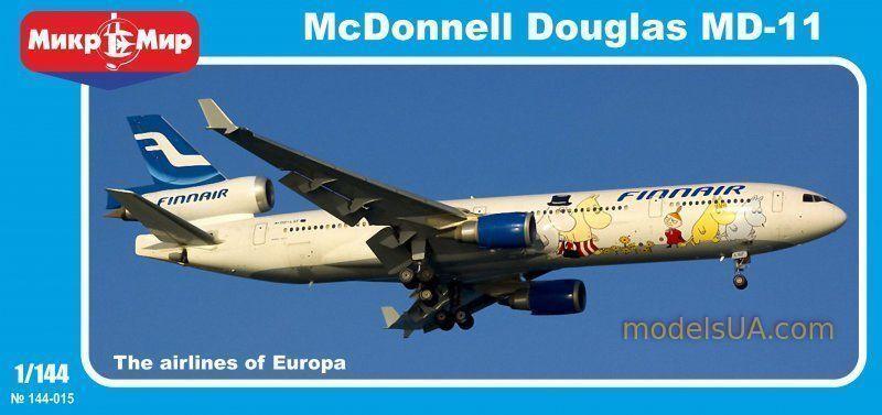 McDonnell Douglas MD-11 FINNAIR 1 144 144 144 Mikromir 144-015 + Masks 34a2fc