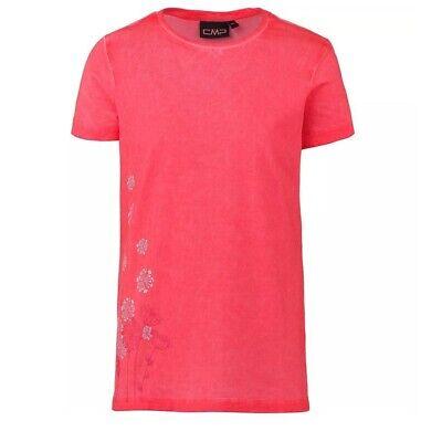 Cmp Girl T-shirt Aus Stretch-jersey Kindershirt Sommershirt Für Mädchen