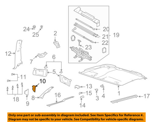FORD OEM Interior-Kick Panel Trim Right 4L3Z1502344AAB