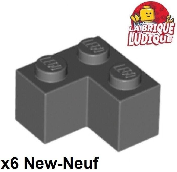 LEGO 8 x Kegel neues dunkelgrau Dark Bluish Gray Cone 2x2x2 Open Stud 3942c