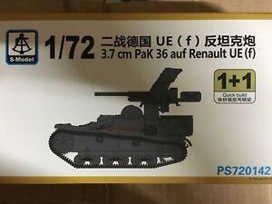 1+1 f S-model PS720142 1//72 3.7cm Pak 36 Aud Renault UE
