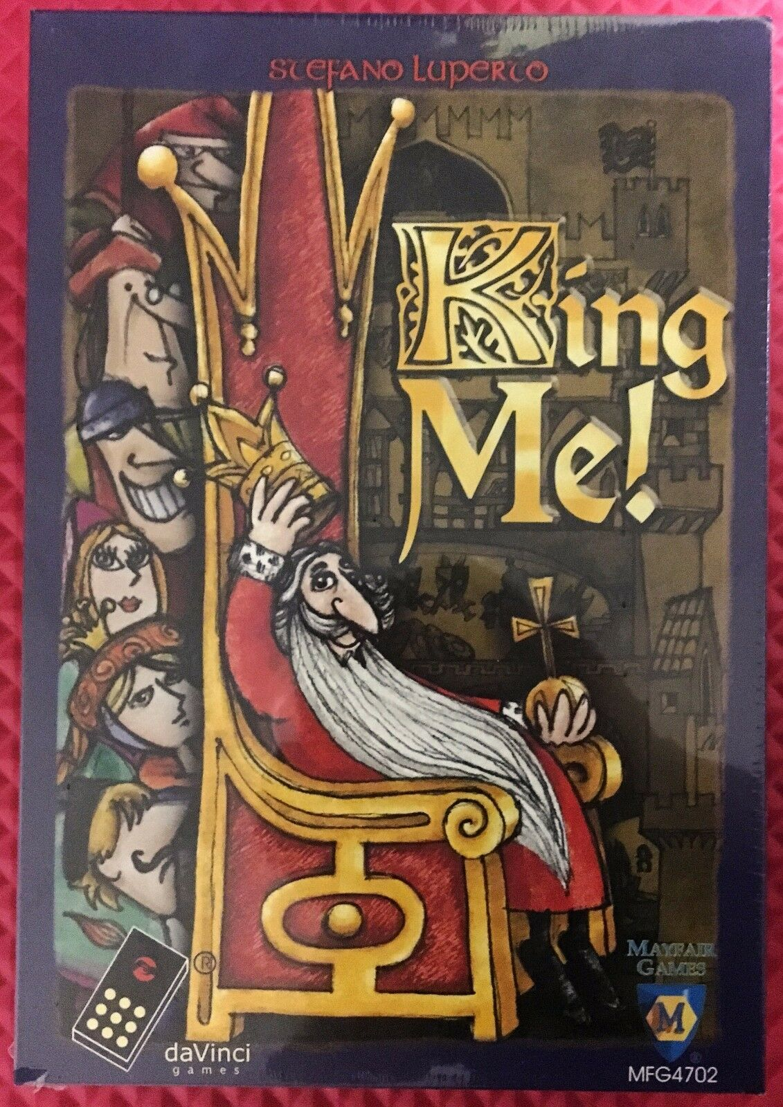 King Me Board Game by daVinci Games / Mayfair Games NEW & Factory Sealed