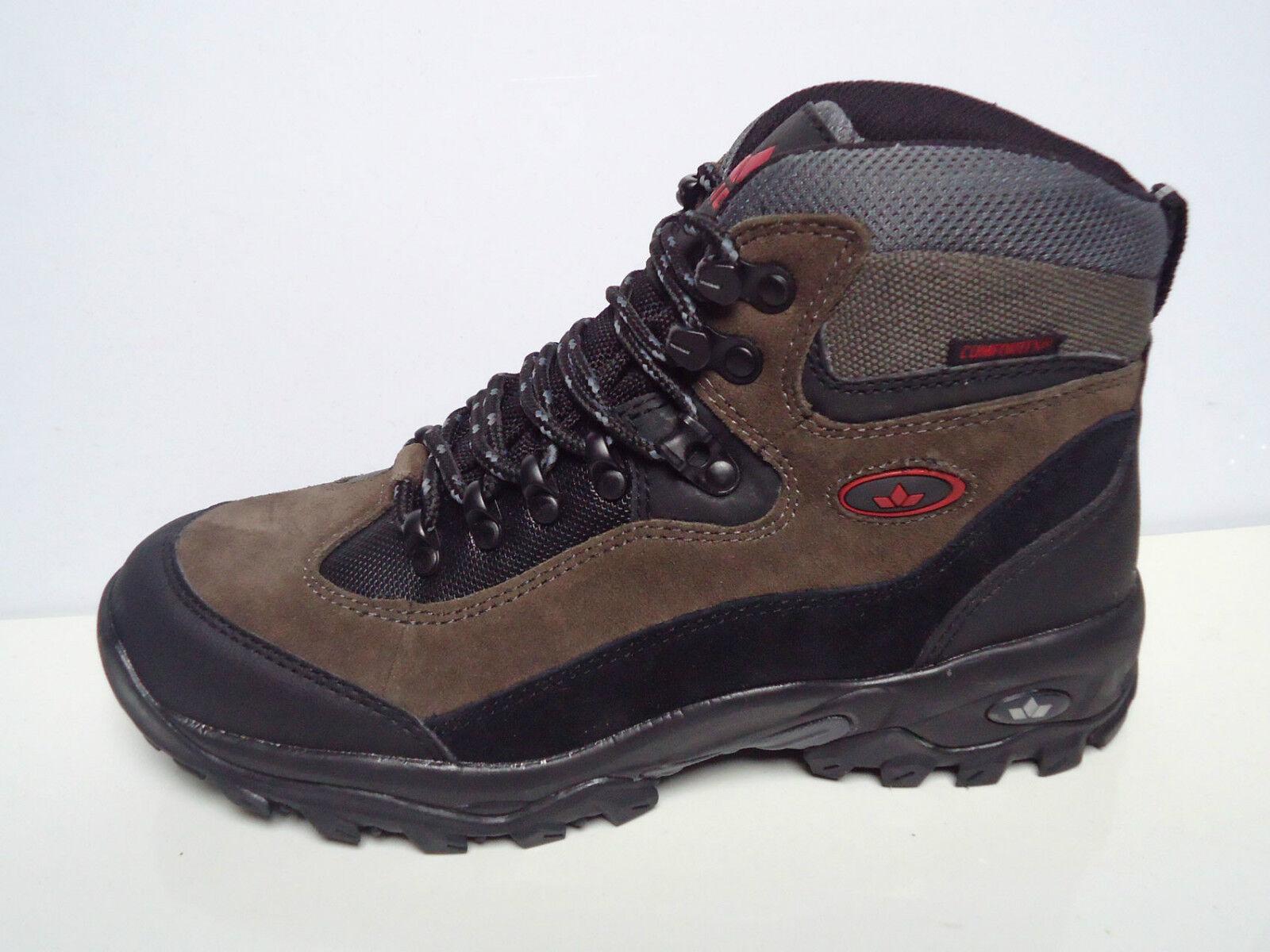 Schnürstiefel Comfort-TEX Stiefel Winter LICO Grau Braun LEDER Schuhe 1311862