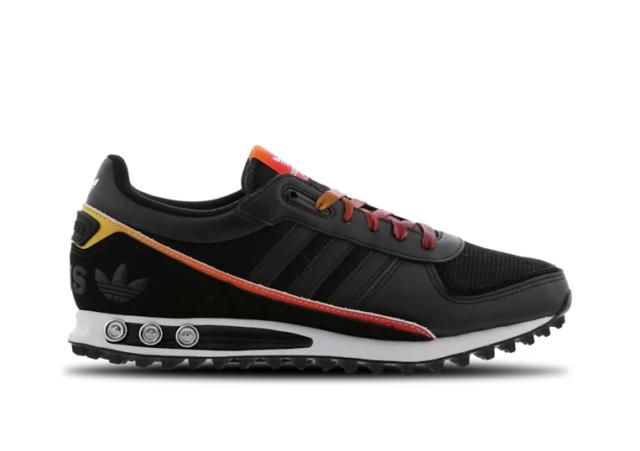 Dernière Adidas Originals La Trainer II, Men's (UK 6 12) couleur noir NEUF