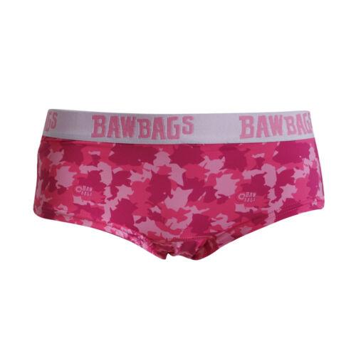 BAWBAGS NUOVA linea donna rosa Camo COOL DE SACS Pantaloni NUOVO CON ETICHETTA