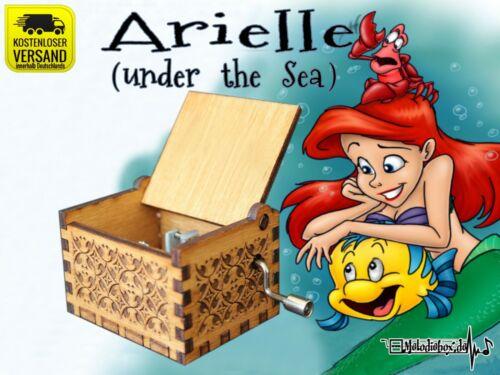The Little Mermaid Arielle die Meerjungfrau Spieluhr Musicbox Neu Fanartikel