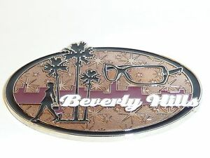 BEVERLY HILLS SOUVENIR MAGNET 2.25 x 1.5 INCHES