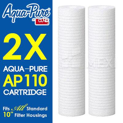 4 X Aqua-Pure AP110 Cuno 56204-04 cartridges pack Grainger 1P753
