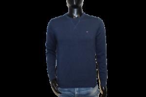 Neu Tommy Hilfiger Herren Sweater Pullover navy