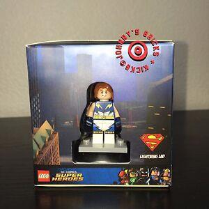 Lego-Minifigure-Cube-Target-Exclusive-BRAND-NEW-Lightning-Lad-Kai-Sir-Fanger