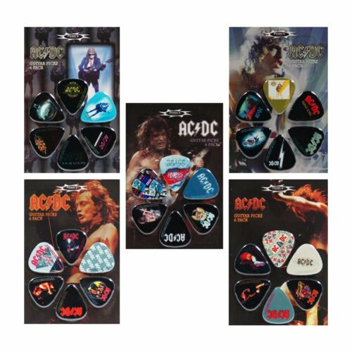 Band Plektren AC//DC Set Plektren Plektrum Picks Pleks Plektra Plektron Gitarre