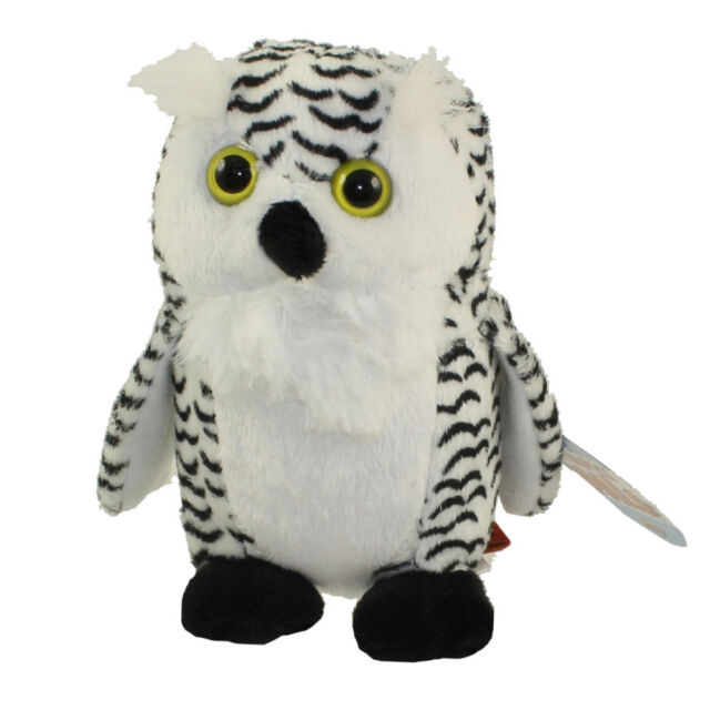 Wild Republic Baby Snow Owl Plush Bird Stuffed Animal Teddy Toddler
