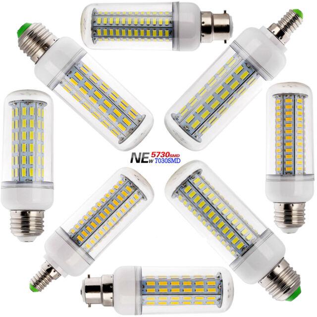 35W 40W SMD 7030 High Power LED Corn Light E26 E27 E14 B22 Bulb White Lamp S-179