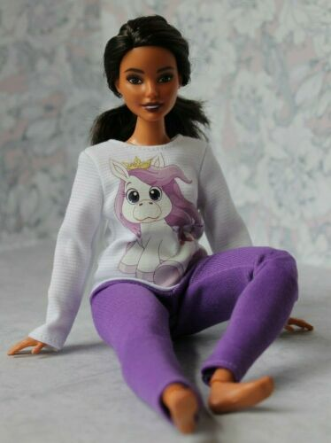 Blouse and Leggings for Dolls. №137 Clothes for Curvy Barbie Doll