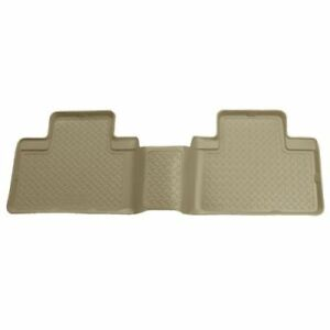 Husky-Liners-73913-Third-Seat-Floor-Liner-Mats-Tan-For-2000-2005-Ford-Excursion