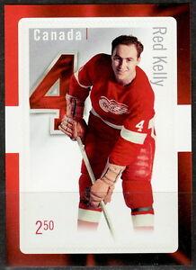 Canada-2793-Great-Canadian-NHL-Defensemen-Red-Kelly-Souvenir-Sheet-MNH