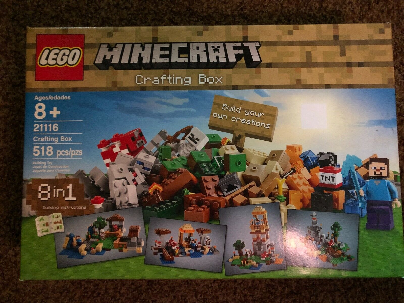 LEGO Minecraft Crafting Box (21116)