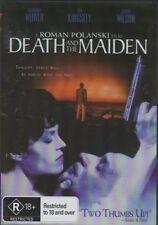 Death And The Maiden R18+ Roman Polanski New DVD Region ALL Sealed