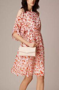 Sold Out NEW L.K Bennett Amina Printed Tea Dress Size  UK 10 12 16