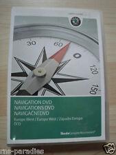 SKODA NAVIGATIONS NAVI DVD EUROPA WEST V3 RNS 510 AAN000061A