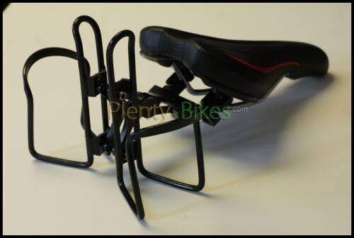 Dual Origin8 Bike Bicycle Rear Behind Saddle Seat Water Bottle Cage Mount Holder