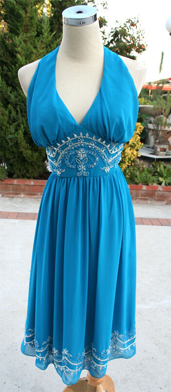 NWT LARA Design  256 OCEAN Evening Prom Party Dress 8