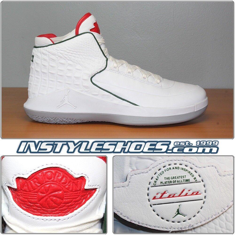 Nike Air Air Air Jordan XXXII 32 XXX11 Italian Leather All Star  AJ5981-163 b00ac9
