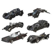 BATMAN Set 6 Modellini 1:64 SERIE 2 Hot Wheels DIE CAST Batmobile Dark Knight