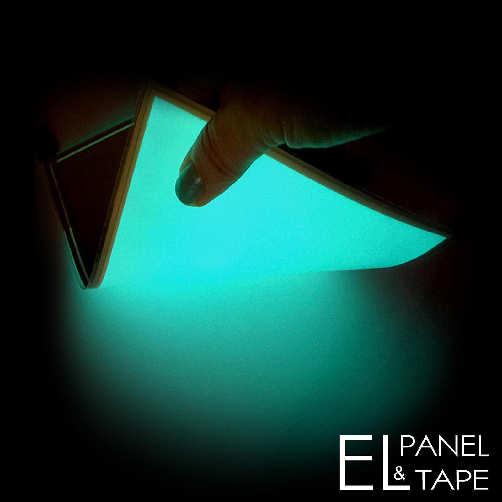 A6 Größe - EL Panel (10.7cm x 15cm) - No Backing - Electroluminescent Sheet