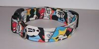 Wet Nose Designs Colorful Disney Vintage Mickey Mouse Inspired Dog Collar