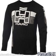 HARO BMX Retro Long Sleeve T-SHIRT Black white ADULT 2X-LARGE old-school vintage