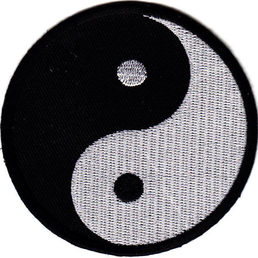 Arts Martiaux Martiaux Martiaux Brodé Badges - Yin Yang Gi Patches Uniforme Combinaison fa971f