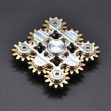 9 Nine Gear Limited Brass Hand Spinner Fidget Torqbar EDC ADHD Handmade Metal US