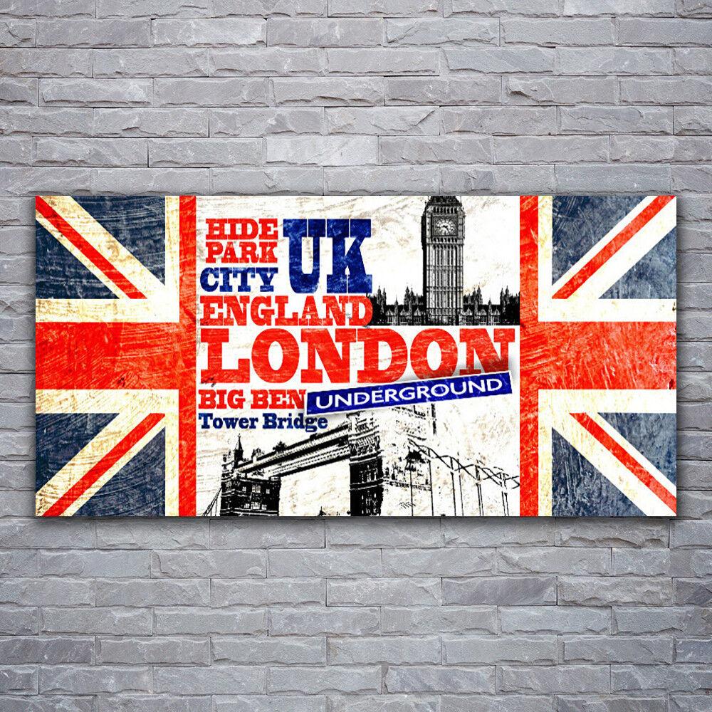 Acrylglasbilder Wandbilder aus Plexiglas® 120x60 London Flagge Kunst