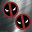 2-TWO-Deadpool-Vinyl-Decal-Sticker-For-Car-Laptop-Skateboard-NEW-Dead-Pool thumbnail 1